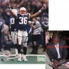 LAWYER MILLOY SEAHAWKS SIGNED PATRIOTS SUPER BOWL 8X10 PHOTO PIC PROOF