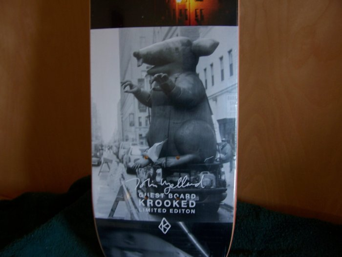 "KROOKED ""TOBIN YELLAND"" GUEST MODEL - LIMITED ED."