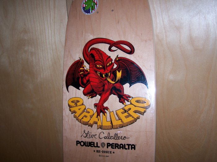 "POWELL ""CABALLERO DRAGON 2"" SKATEBOARD DECK"