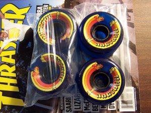 "DOGTOWN ""70'S"" WHEELS - 70mm 80A"