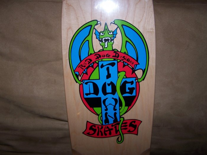 "DOG TOWN ""RED DOG OG"" SKATEBOARD DECK"