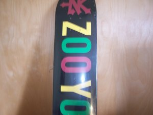 "ZOO YORK ""RASTA"" TEAM DECK"