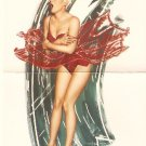 "Olivia de Berardinis O Card ""Tingler"" Pin-up Notecard with Envelope"