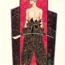 Olivia de Berardinis O Card Pin-up Notecard with Envelope