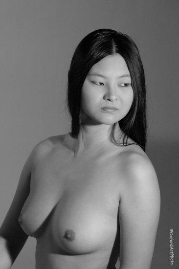 Pocohantis!  Beautiful Oriental Nude