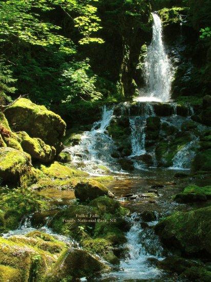 Fuller Falls, Fundy National Park, New Brunswick, CA 05