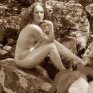 """The beautiful natural Red Head #06 served """"On The Rocks""""!"""