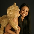Hot Asian Babe & her teddie!