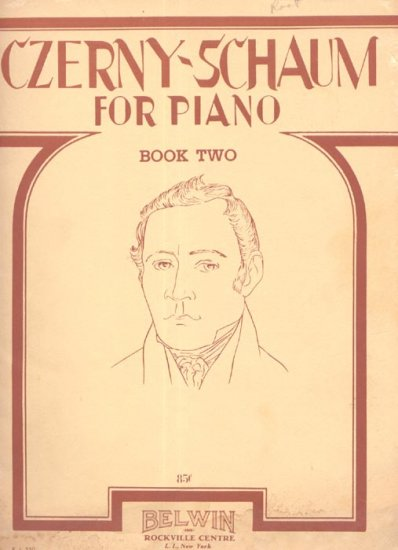 Czerny-Schaum For Piano Book Two 1948