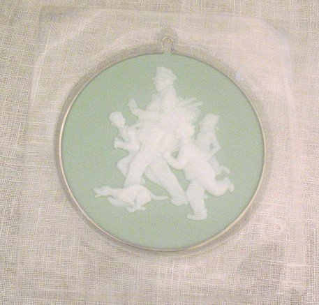 Norman Rockwell Jolly Postman Cameo Ornament 1985