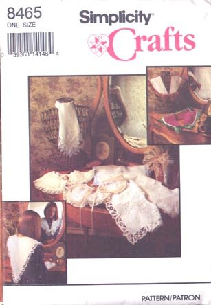 Simplicity One Size Pattern for Collars 1993