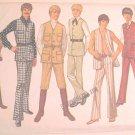 Simplicity 9087 Teen Boy Size 14  Uncut Retro Vest Pants