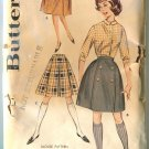 Butterick Misses Pattern 9843 Skirt & Knee Knocker waist 24 1/2 Unused