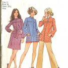 Simplicity Size 12 1971 Misses Smock 2 Lengths Uncut