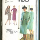 Simplicity 1979 Size U (16 - 18- 20)  Time Saver Stretch Knit Pattern 9160 Uncut