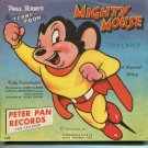 Mighty Mouse in Toyland Record Cover Only Terrytoons