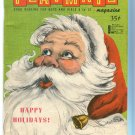 Children's  Playmate Santa Cover December 1965  Sock  Monkey