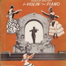 Memories of Johann Strauss Waltzes for Violin and Piano 1939