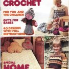Mon Tricot Knit Crochet Special Home Fashions 2/1977