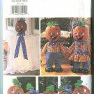 Butterick Halloween Pattern 3618 Pumpkin Decorations Pattern 2002 Uncut