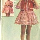 Advance Sew Easy Size 4 Girls Dress Used