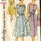 Simplicity Size 16 1/2 Slenderette Dress Pattern 2585