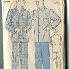Advance  Mens Pajamas Size Large 44 Long Pants Style Unused