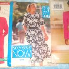 3 Butterick See Sew Womens Patterns Size C  16 to 24 Dress Suits