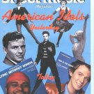 Sheet Music Magazine American Idols Yesterday Sept/Oct 2003