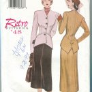 Misses Retro '48 Pattern 6257 Uncut Size 12-14-16