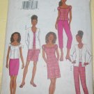 Butterick Misses Pattern 3468 Size 6-8-10 Cardigan Tank Top, Dress, Skirt Pants