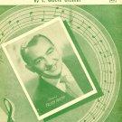 Down Yonder 1948 Sheet Music Piano Vocal Uke