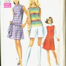 Simplicity 8147 Miss Size 14P Summer Pantdress Uncut