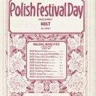 Polish Festival Day Mazurka Student Recital Sheet Music