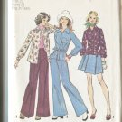 Simplicity 6101 Young Jr Teen Size 7/8 Pattern Shirt Pants and Short Skirt Uncut