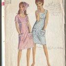 Simplicity 6513 Size 16 1966 Misses Casual Summer Dress & Scarf   Uncut