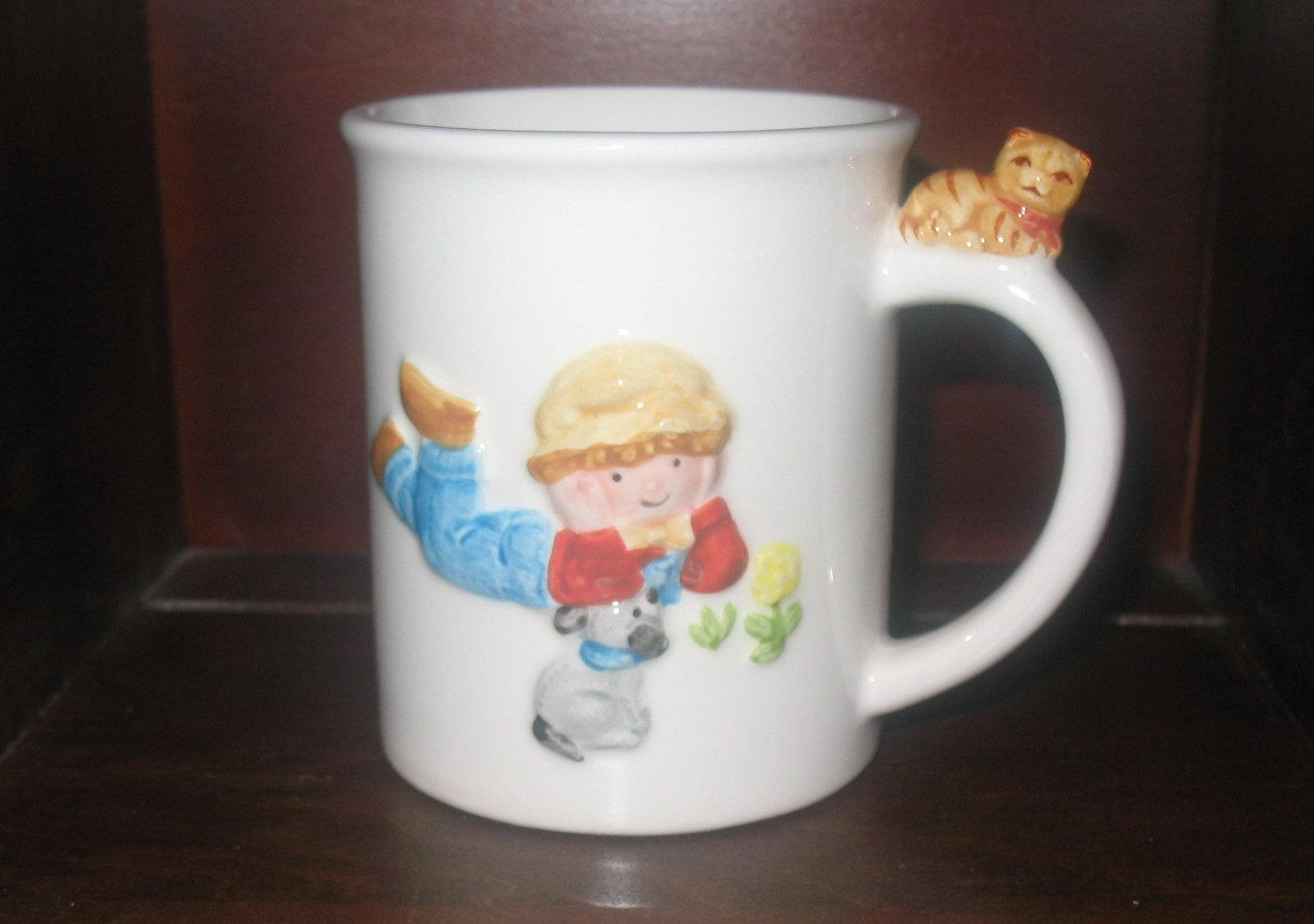Holly Hobbie Little Blessings 1982 Robby Mug