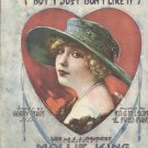 I'm Not Jealous 1919 Sheet Music A.J.Stasny Music