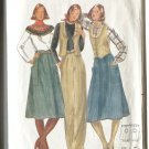 Butterick Misses Unused Pattern 5596 Size 12 Vest Skirt Pants