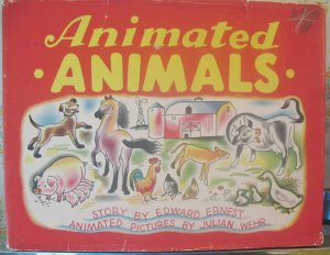 Animated Animals HC DJ Ernest Pictures Julian Wehr 1943