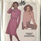 Simplicity 8162 Size 10-12 Two Piece Misses Jiffy Stretch Knit Pattern  Pattern 1977