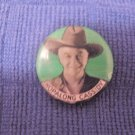 Vintage Hopalong Cassidy Pinback Western Movie Star