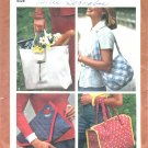 Simplicity 9752 Pattern for 4 Bags 1980