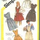 Simplicity 6173 Size Small 10-12 Full Apron Pattern 1983