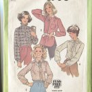 Simplicity Pattern 8738 Misses Size 12 Blouse Fuss Free Fit Dated 1978