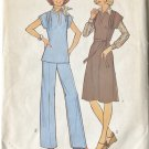 Simplicity Miss Size 46 Simple to Sew Dress 1976