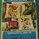 Crewel Embroidery Creative Stitchery Pillow Kit Cardinal Birds