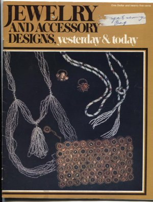 Jewelry and Accessory Designs 1971 Cunningham Crochet Cross Needle