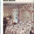 Butterick Pattern 3463 Decorate With Sheets Bedspread Curtains & More