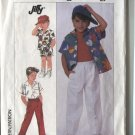 Simplicity 8157 Little Boy Size 5  Used  1987 Shirt & Pull on Pants Shorts